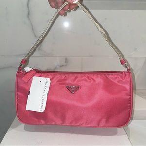 NWT Vintage Prada Tessuto Sport Nylon Pink Peonia